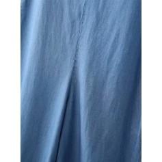 Wide Leg Cami Denim Overalls
